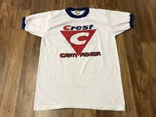 New listing Small Vtg 80s Crest Cavity Fighter Velva Sheen Ringer Single Stitch T-Shirt Usa