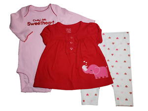 *NWT- CARTER'S - INFANT GIRL'S TOP, BODYSUIT, PANT 3 PC SET