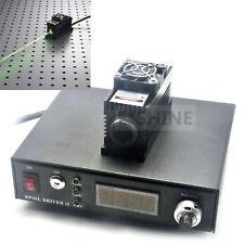 532nm 100mW Grün Laser DOT Modul + TTL / Analog + TEC + PS-II Labor Netzteil