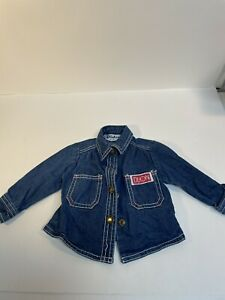 Vintage Kids Dijon jean jacket  12 months vintage