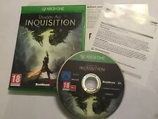 PAL XBOX ONE XB1 GAME Dragon Age Inquisition COMPLETE DISC IS EXCELLENT