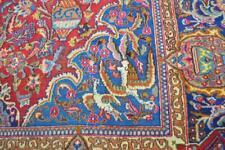 9'4 x 12'8 Superb Semi Antique Vase Bird Pictorial Handmade Wool Area Rug 9 x 13