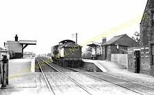 Middle Drove Railway Station Photo. Watlington - Smeeth Road. Wisbech Line. (1)
