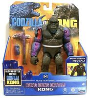 Godzilla vs Kong Hong Kong Battle King Kong Damage Reveal Playmates Toy In Hand
