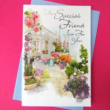 a Get Well Wish Especially for You Simon Elvin Garden Theme F.p.