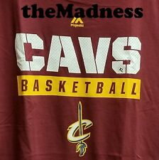New Majestic Proven Pastime Cleveland Cavaliers XL TShirt Mens Short Sleeve NBA