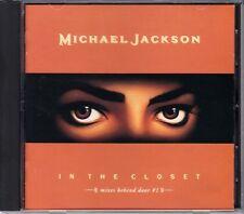 Michael Jackson In The Closet Mixes Behind Door #1 1992 Japan CD 1st ESCA-5610