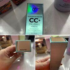 Bnib Unopened It Cosmetics Cc Cream - Med tan - Free Ship