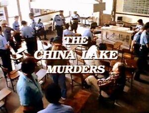 China Lake Murders, the - 1990 US TVM Tom Skerritt, Nancy Everhard (UK disc)