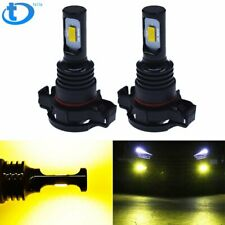 Us 5202 Ps24Wff Led Fog Light Bulbs Csp 3570-Chips 70W 8000Lm 3000K Gold Yellow