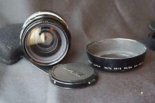 Collectible lens Nikon NIKKOR-O auto 35mm F2  Nikon F F2 Nikkormat lens hood