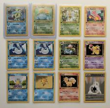 Pokemon Cards 1st Edition French Base Set Bundle - Mixed Condition