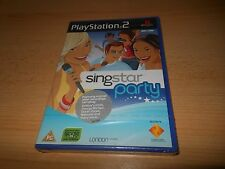 Singstar Party for Sony PlayStation 2 *New  Sealed* - PS2