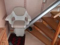"""Treppenlift """" HomeGlide"""" für gerade Treppen,Schienenlänge 4,50m,"""
