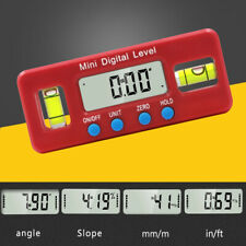 Magnetic Electronic Digital Display Level Angle Ruler Instrument Measuring Tools