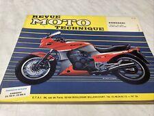 Revue Moto Technique Kawasaki Ninja 750 G2 900 A1 A2 A3 A6 ETAI N° 59 RMT