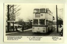 pp1220 - B.P.T.A.No15, MF28 Trollybus at Tuckton Bridge - Pamlin postcard