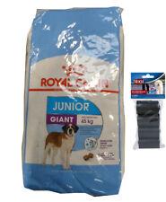 15kg Royal Canin  Giant Junior + 80 Stk. Kotbeutel
