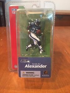 Shaun Alexander Seattle Seahawks mini McFarlane NFL Action Figure NIB Roll Tide