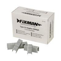 805052 Fixman 5 000 agrafes type 53-11,3 x 12 x 0,7 mm Fixman