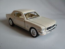 1964 1/2 Ford Mustang weiß Welly Auto Modell ca.1:36