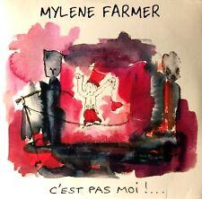 CD SINGLE MYLENE FARMER C' EST PAS MOI !. FAUX PROMO / FAKE PROMO RARE COLLECTOR