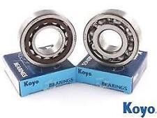 KTM SX/EXC 125 144 150 200 1998-2017 Cigüeñal Principal Cojinetes X2 [KOYO]