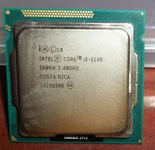 1 Intel SR0RH Laptop Processor i3 3240 3.40 GHz Free Shipping