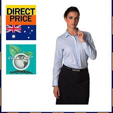 Regular Career Striped 100% Cotton Tops & Blouses for Women