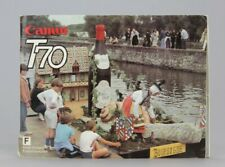 Canon T70  Mode d'emploi Edition Française d'origine (Réf#R-013)