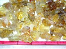 Citrine crystal yellow/gold mixed facet grade Brazil 300 carat lots