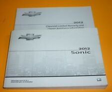 12 2012 Chevrolet Sonic owners manual