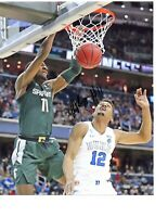Aaron Henry Michigan State Spartans hand autographed signed 8x10 photo DUKE WIN!