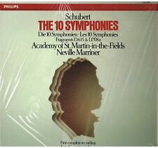 Schubert: Le 10 Sinfonie / Marriner, Academy Of St. Martin In The Field LP