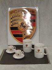PORSCHE DESIGN THE ULTIMATE AFTER DINNER ESPRESSO COFFEE TEA COCOA SET~UP! NEW!