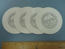 BURTON snowboard 2013 PROMOTIONAL 4 DRINK COASTER SET New Old Stock Mint Cond