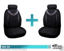 Mercedes B Klasse W245 Maß Schonbezüge  Sitzbezüge Fahrer & Beifahrer 04