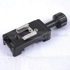 Pince + Hot Shoe Mount pour Caméra libération rapide PATE & Canon Nikon Speedlight Flash