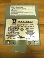 Square D Class 9991 Type KE3 on/off enclosure with switch 3R
