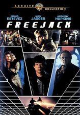 Freejack DVD (1992) - Emilio Estevez, Mick Jagger, Anthony Hopkins, Geoff Murphy