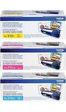 GENUINE BROTHER TN310C TN310Y TN310M TONER SET (3-PACK) MFC-9560CDW, MFC-9970CDW