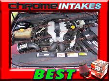 K&N+RED 97 98 99 00 01 CADILLAC CATERA BASE/SPORT 3.0 3.0L V6 AIR INTAKE KIT