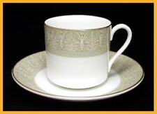 Royal Doulton Sonnet Coffee Cans & Saucers - Excellent Condition - 1st Quality