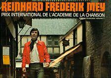 Reinhard Frederik Mey Prix International de L'Academie de La Chanson LP (l9403)