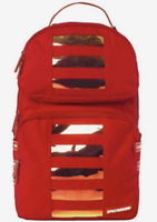 SPRAYGROUND RED HOLOGRAM TROOPER BACKPACK - Limited Edition - New - Authentic