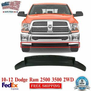 Front Lower Valance Air Dam Textured For 2010 - 2012 Dodge Ram 2500 3500 2WD