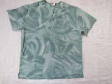 Los Angeles ROSE Women's Scrub Shirt Top Multi-color