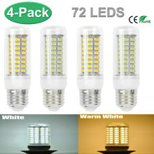 4PCS 100W Equivalent E27 5730SMD LED Corn Bulb Lamp Light Spotlight 72-Chip 110V