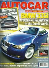 Autocar 5th July 2006 BMW 335i, Alfa Brera, Jaguar XKR, Leon FR, Honda Legend
