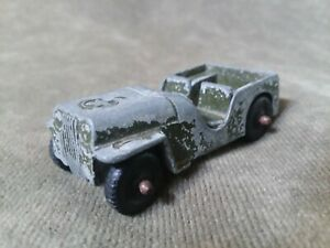 Vintage TootsieToy Military Collectible Army Jeep Made In USA
